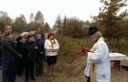 Poświęcenie krzyża wWoli Stanisławowskiej