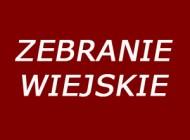 Harmonogram zebrań sołeckich 2018
