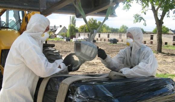 Usuwanie azbestu i wyrobów zawierających azbest z terenu Gminy Cegłów – 2017
