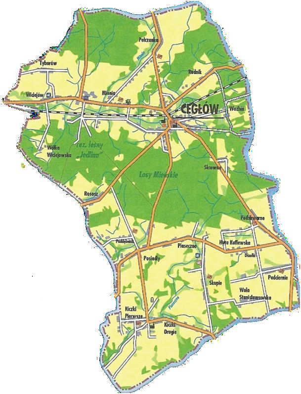 Ceglow_mapa