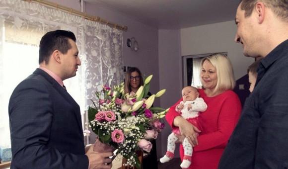 Kamilka pierwszą mieszkanką gminy Cegłów urodzoną w 2019 r.