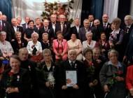 Uroczystość wręczenia medali zaDługoletnie Pożycie Małżeńskie wGminie Cegłów