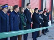 Uroczyste otwarcie Centrum Zrównoważonego Rozwoju iOchrony Przyrody wCegłowie zsiedzibą OSP Cegłów.