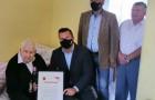 Setną rocznicę urodzin 8 września br.obchodził mieszkaniec naszej gminy, Pan Aleksander Wojdak.