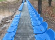 Nowe wyposażenie stadionu sportowego wCegłowie