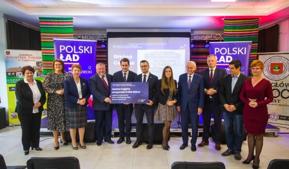 8 MILIONÓW na inwestycje w Gminie Cegłów