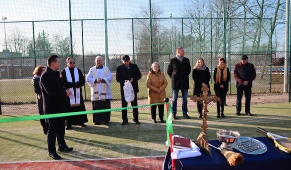 Kort do tenisa ziemnego w Gminie Cegłów
