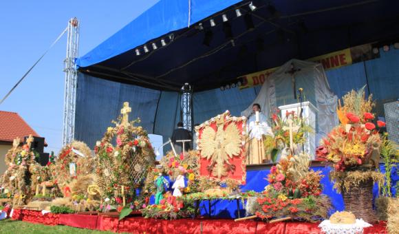 Dożynki Gminno-Parafialne w Gminie Cegłów