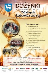 Latowicz plakat nadożynki 2017