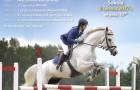 Zawody jeździeckie wskokach przez przeszkody