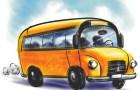 Rozkład jazdy gminnego autobusu wdowożeniu mieszkańców dolokali wyborczych wdniu 24 maja 2015 r.