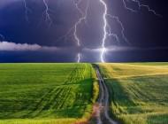 Silny deszcz zburzami – Ostrzeżenie nr60