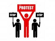 """Protest """"Stop dla budowy linii elektroenergetycznej 400 kV"""""""