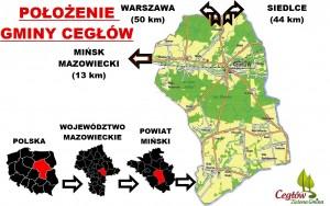 gmina mapa KIERUNKI