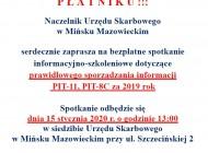 Bezpłatne spotkanie informacyjne wsprawie PIT-11