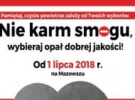 Komunikat Samorządu Województwa Mazowieckiego