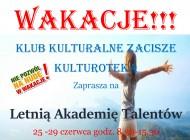 Letnia Akademia Talentów 2018