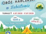 Obóz harcerski wLubiatowie