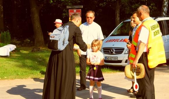 Pielgrzymi z Drohiczyna w Cegłowie