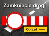 Zamknięcie drogi Woźbin – Rudnik